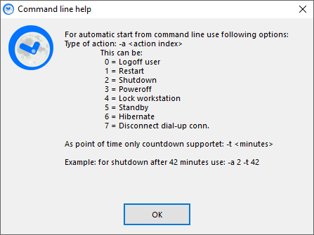SleepTimer Ultimate - Programmez l'arrêt de votre pc ou l'exécution d'un programme 7