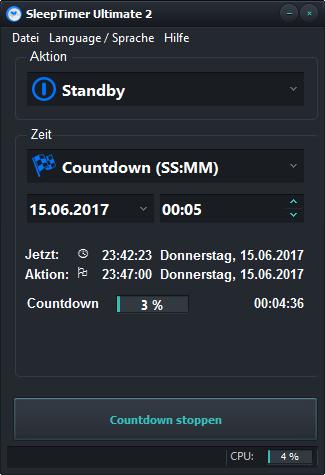 SleepTimer Ultimate – Shutdown timer for Windows